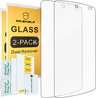 [2-Pack]-Mr.Shield for Google(lg) Nexus 5 [Tempered Glass] Screen Protector with Lifetime Replacement