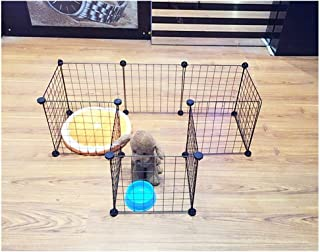 Xiao Tian Pet Exercise Playpen,for Rabbits/Guineas/Dogs and Cats DIY Foldable Playpen
