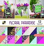 DCWV Floral Paradise Stack de Papeles 30x30cm -
