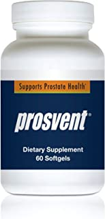 PROSVENT-Natural Prostate Health Supplement Clinically Tested Ingredients Reduce Urgency & Frequent Urination Improve Flow, Sleep, Health & Quality of Life. Over 180 Million Pills Sold 1 Month Supply