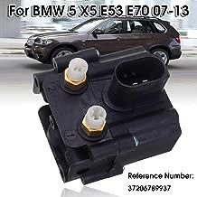 Air Suspension Valve Block Solenoid For BMW 5 X5 E53 E70 Series E61 525d 530i 2006-2013 37206789937 37206789938 Black