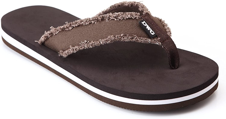 DWG Men's Soft FlipFlops Sandals Light Weight Shock Proof Slippers