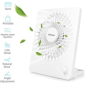 Rose DurationPower Ventilateur Rechargeable /à Ventilateur portatif Ventilateur