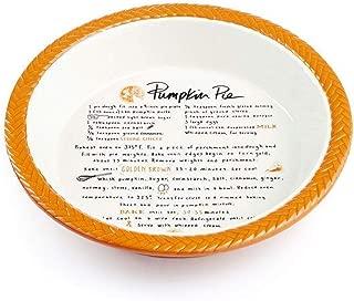 Martha Stewart Collection Pumpkin Pie Plate No Color