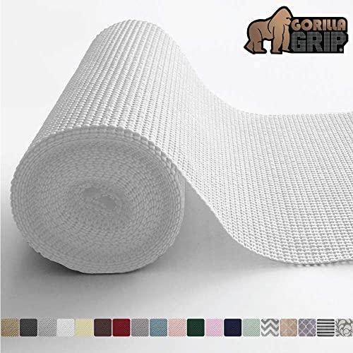 Gorilla Grip Original Drawer and Shelf Liner, Non Adhesive Roll, 17.5 Inch x 20 FT, Durable and Strong, Grip Liners f...