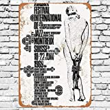 Ellis 1969 Montreux Jazz Festival Vintage Retro Metall