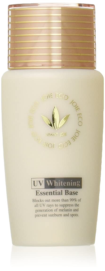 円形光沢のある黒人ビーバンジョア VIVANTJOIE 「薬用UV美白エッセンシャルベース」 52ml 470AC