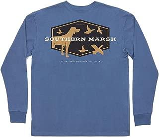 Southern Marsh Branding Hunting Dog Long Sleeve T-Shirt