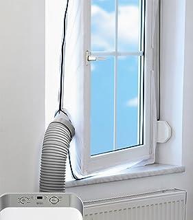 Mingran AirLock Abluft Fensterabdichtung für mobile Klimageräte Hot Air Stop Abluft Fenster Abdichtungen