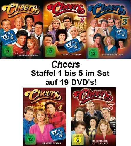 Seasons 1-5 (19 DVDs)