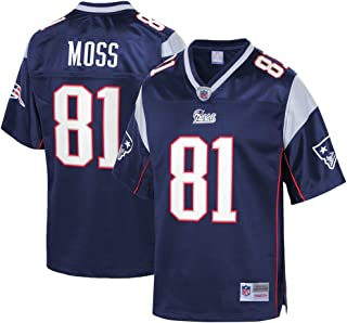 Mitchell & Ness Randy Moss New England Patriots Throwback Replica Jersey