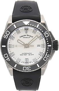 Armand Nicolet - Reloj armand nicolet js9 a480agn-ag-gg4710n automático Reloj para Hombre Analógico de Automático con Brazalete de Goma A480AGN-AG-GG4710N