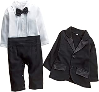 black baby romper suit