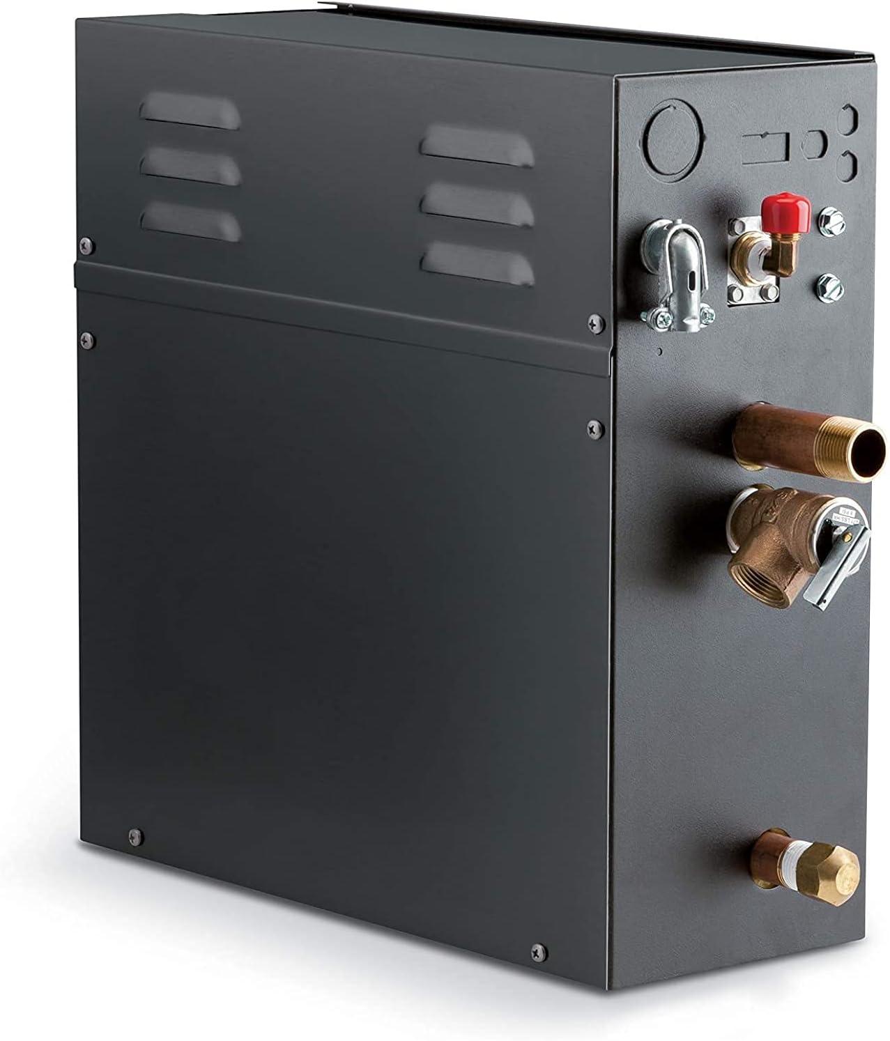 7.5 Arlington Mall KW Steam Bath Generator Steamist Time Digital 250 with Dallas Mall SMP-7