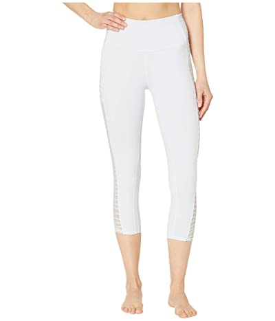 ALO High-Waisted Prism Capris (White) Women
