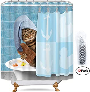 Best cat themed shower curtains Reviews