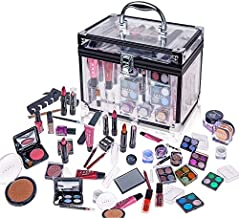 SHANY Carry All Trunk Makeup Set (Eye shadow palette/Blushes/Powder/Nail Polish and more)