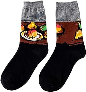 靴下 メンズ くるぶし 靴下レディース 靴下 油絵 世界名画 アート ソックス メンズ クリスマスプレゼント おもしろいプレゼント