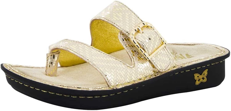 Alegria damen Valentina Thong Sandal Gold Dazzler Dazzler Größe 40 EU (10 M US damen)  Sparen Sie 60% Rabatt und schneller Versand weltweit