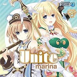 ベール, ネプテューヌU 表紙イラストはブランとベールさん!marinaのNEWシングル「Unite」が10月29日に発売