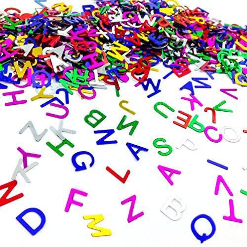 Oblique-Unique ABC Buchstaben Konfetti Schuleinführung Zuckertüte Einschulung Schulanfang