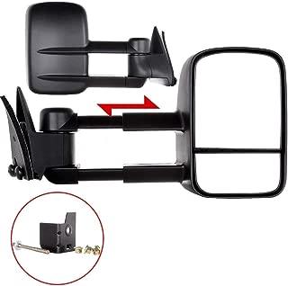 ECCPP Towing Mirror Replacemen for 88-98 Chevy/GMC C/K1500 88-00 C/K2500 3500 92-99 Suburban C/K1500 2500 Tahoe Yukon Truck/2000 Chevy Tahoe GMC Yukon V8 5.7L Manual Telescoping Side View Door Mirrors