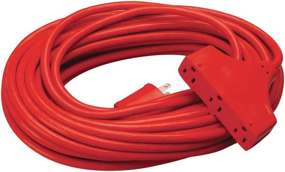 Coleman Cable 42188804 CCI Tri Extension Free shipping anywhere in the nation Source Sales for sale Receptacle Three