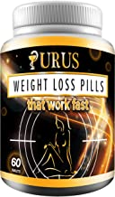 Weight Loss Pills - Diet Pills, Fat Burner, Carb Block & Appetite Suppressant - Dietary - URUS Work Fast for Women and Men