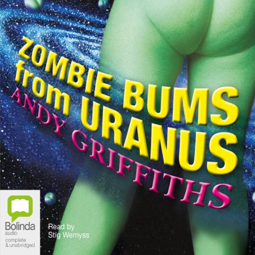Zombie Bums from Uranus  audiobook cover art