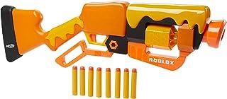 NERF Roblox Adopt Me!: Bees! Lever Action Dart Blaster, Rotating 8-Dart Drum, 8 Elite Darts, Code to Unlock in-Game Virtua...