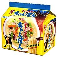 明星食品 チャルメラ ちゃんぽん 5食パック×6個入