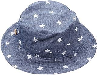 fb35e9ac4 Leisial Sombrero Pescador para Bebé Niños Algodón de Protectora del Sol  Gorro de Alas Anchas Proteger