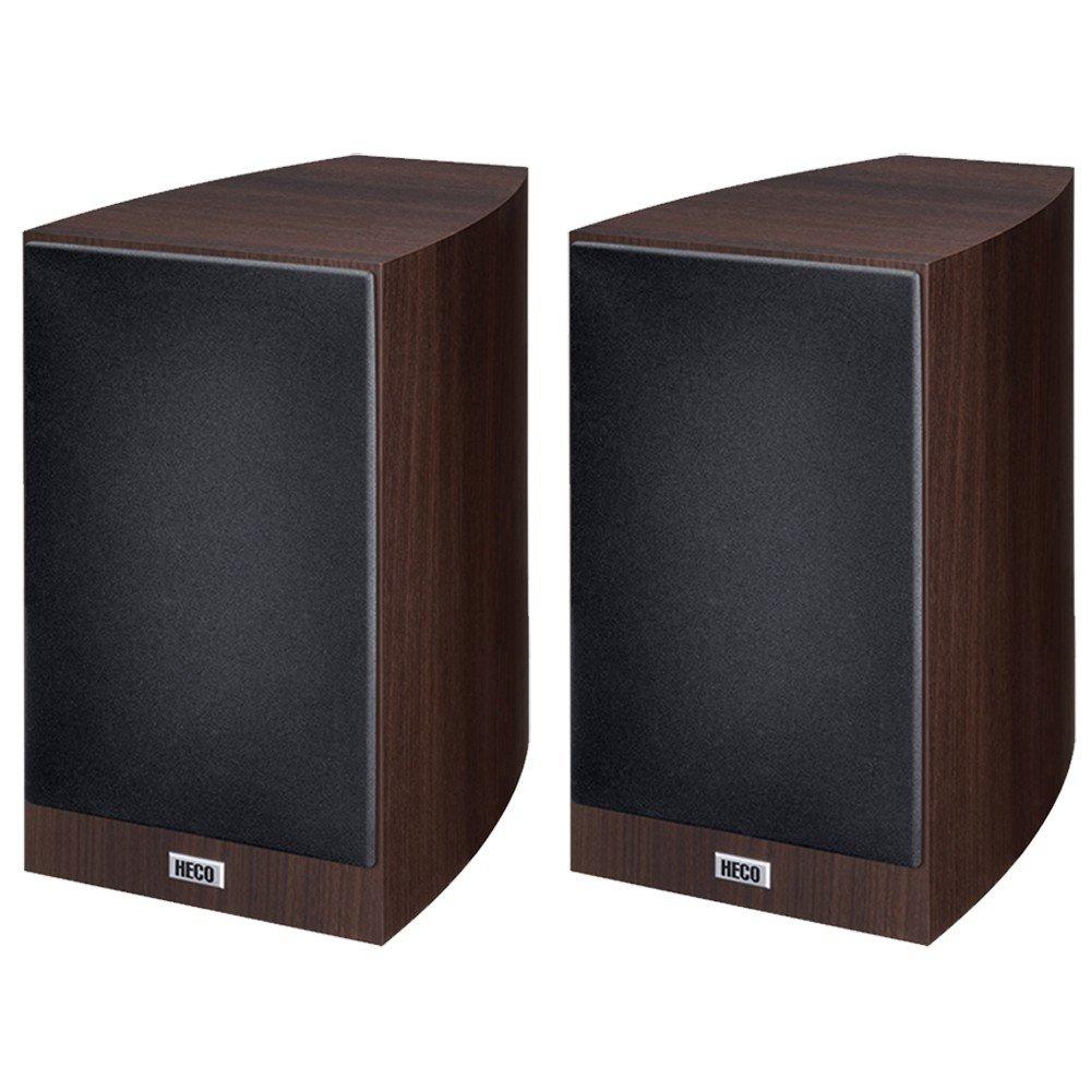 HECO 1345832 Victa Prime 302 - Altavoces para estanterías estéreo y home cinema, 1 Par, Café expreso: Amazon.es: Electrónica
