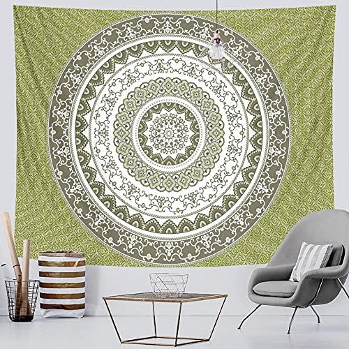 Vintage mandala gradient tapestry home decor psychedelic scene mandala tapestry hippie bohemian decor sheet yoga mat room decor 150x130cm