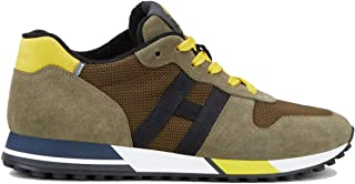 Hogan Luxury Fashion Uomo HXM3830AN51OMY830Z Beige Pelle Sneakers   Autunno-Inverno 20