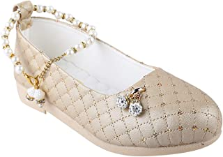 LNG Lifestyle Girls Slip on Ballerinass (Golden)