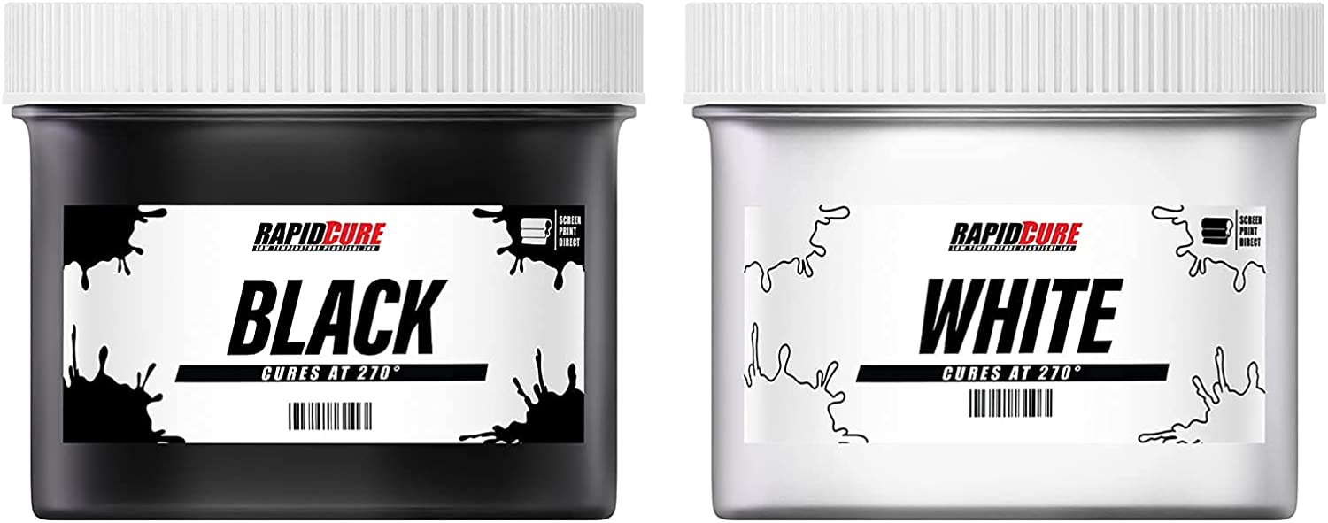Ecotex Low Temperature Surprise price Cure Plastisol Rapid and Black Ink W Ranking integrated 1st place