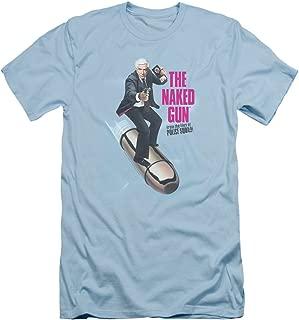 The Naked Gun Frank Drebin Speeding Bullet Funny 80s Adult Slim T-Shirt Tee
