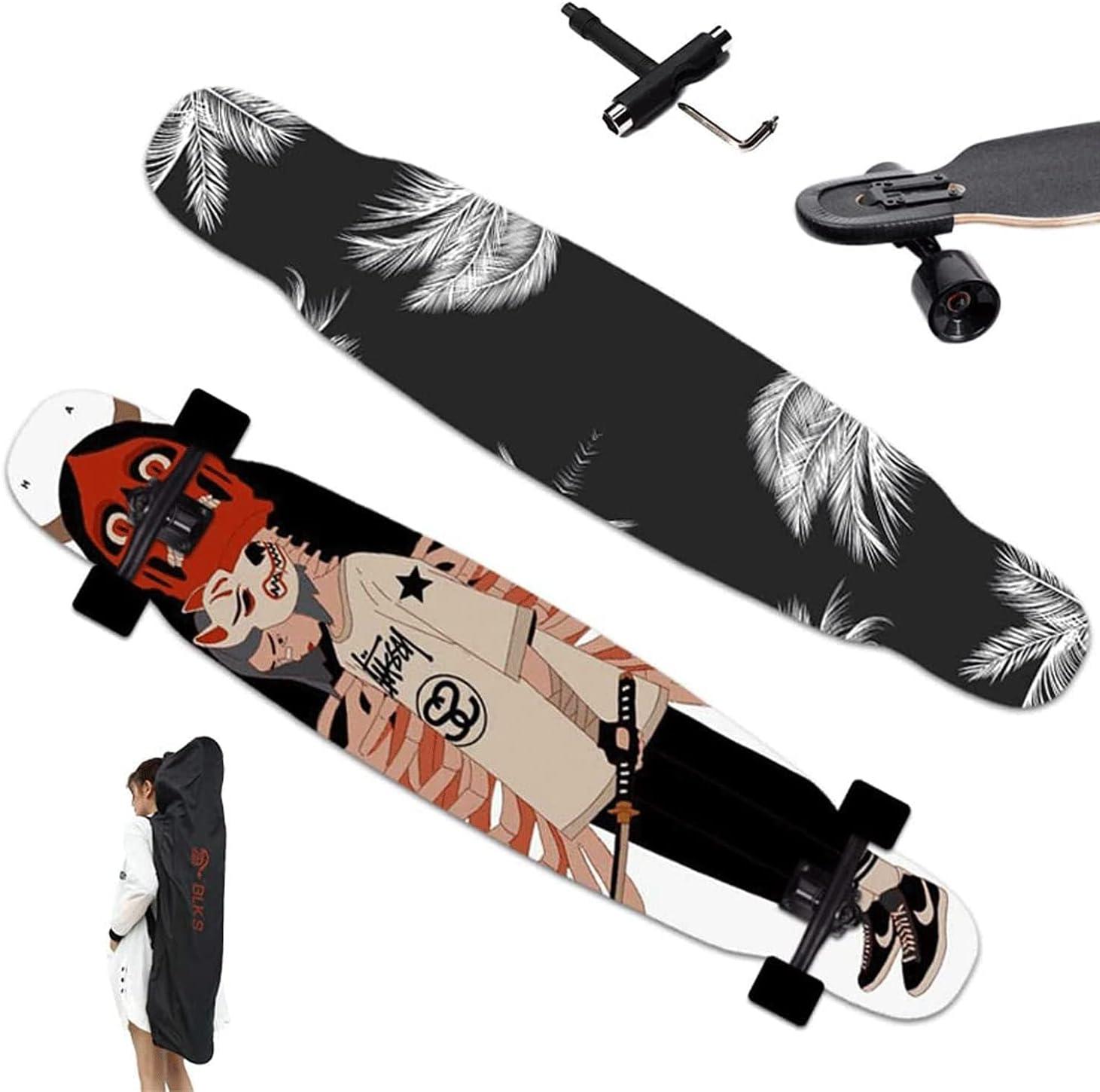 EEGUAI Skateboard Complete 7 Longboard Crui Layer Maple Max 62% Ranking TOP7 OFF