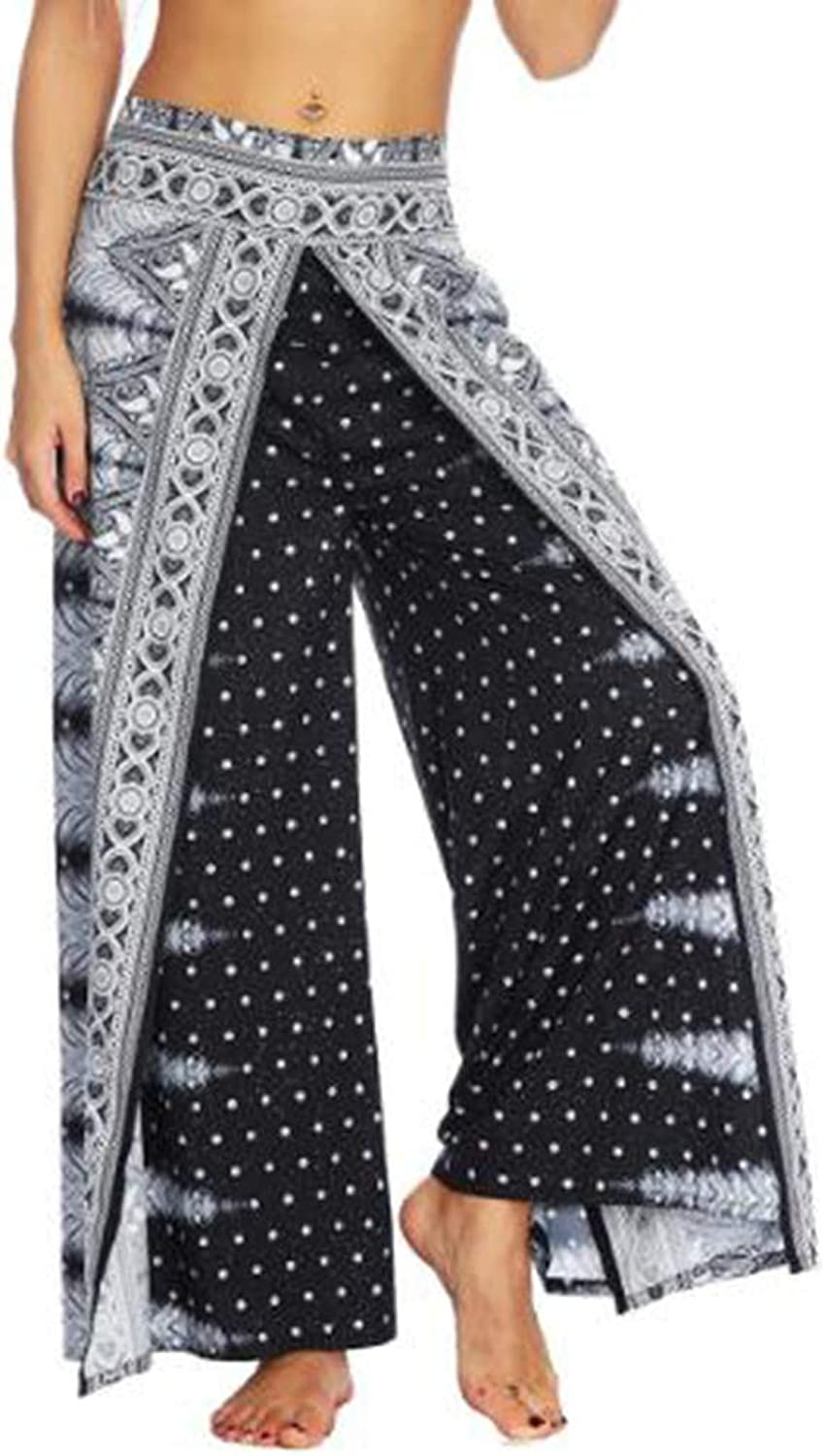 KEVIN POOLE Yoga Pants Relaxed Thin Wide Leg Suitable for Fitness Female Running Pants Women (Size   S M)