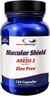 Doctor's Advantage Products Macular Shield Areds 2 Zinc Free, 120 Count