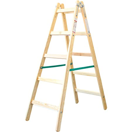 Doppelleiter Holz