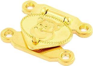 Houten geval sieraden doos Snap sluiting sluiting Hasp Klink Set Gold Tone