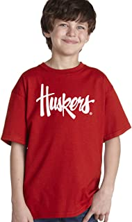 CornBorn Choose Your Design - Script Huskers Youth T-Shirt