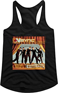 American Classics NSYNC No Strings Black Ladies Racerback Tank Top Tee