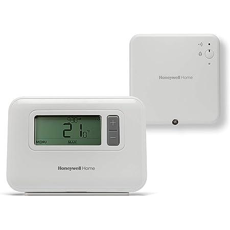 Honeywell Home Y3C710RFEU T3R - Termostato inalámbrico programable de 7 días, blanco