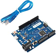 Solu Leonardo with Headers for Arduino + Free USB Cable / Leonardo Compatible Arduino Revision R3 Atmega32u4 with USB Cable / Perfect Atmega32u4 Ximico Leonardo Compatible Arduino Leonardo