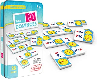 Junior Learning Time Dominoes Educational Action Games