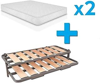 Duermete Cama Nido Completa Láminas Anchas Reforzada + 2