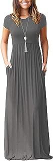 grey white dress